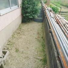 チップ砕石砂利敷き詰敷き均し工事-07