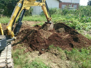 畑作り作業-2