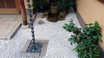 石灰石の庭