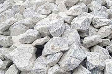 ロックガーデン用の石灰石グリ石・栗石(100㎜~150㎜)